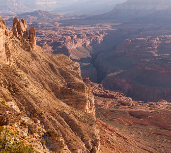 Kanab Point Towers Over Grand Canyon