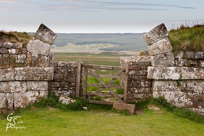 Roman Arch along Hadrian's Wall