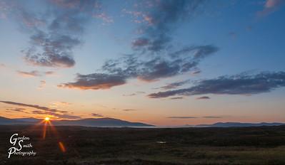Sunrise on the Highlands