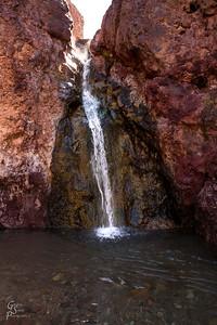 Palm Spring Waterfall