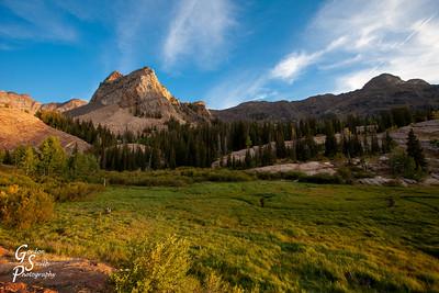Sundial Peak and Meadow