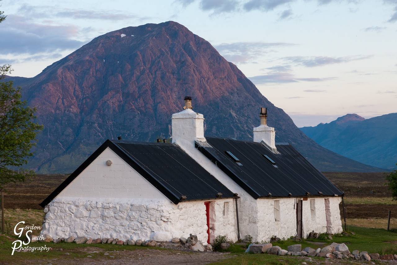 Buachaille Etive Mor and Black Rock Cottage