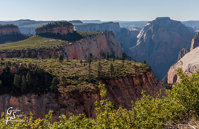 West Rim Trail High Scenery