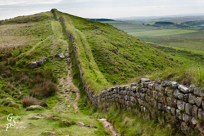 Hadrian's Wall at Steel Rigg
