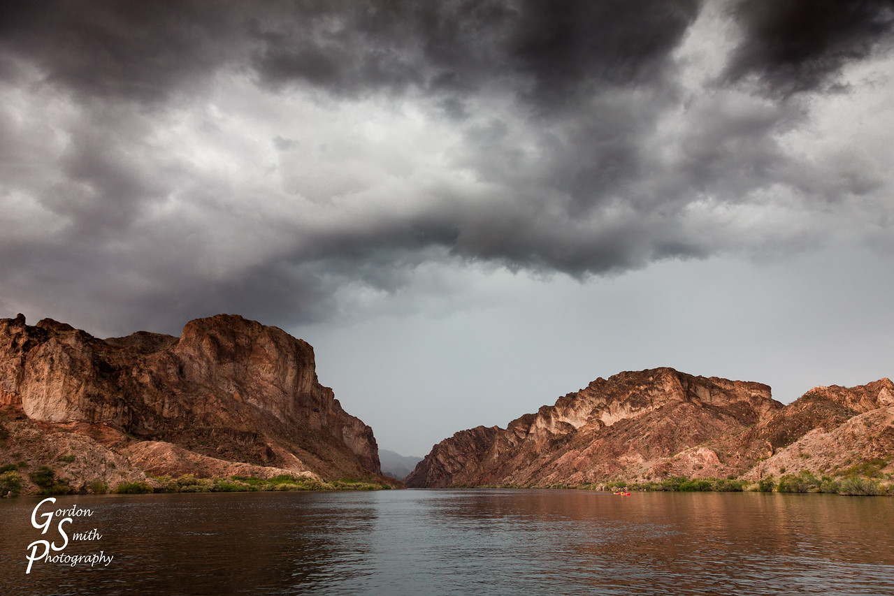 Colorado River Black Canyon Storm