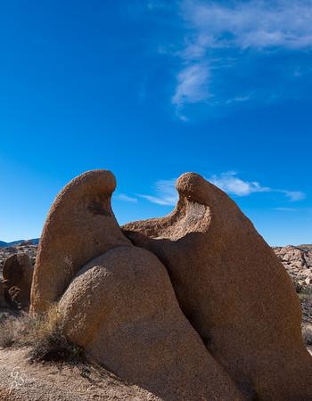 Nativity Scene in Boulders