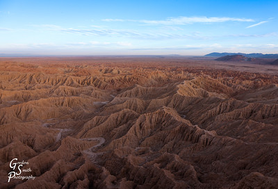 Meandering Canyons below Fonts Point