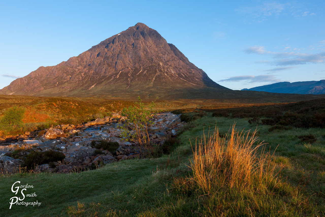 Sunrise at Buachaille Etive Mor in Scotland