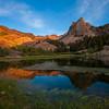 Last Reflection at Lake Blanche