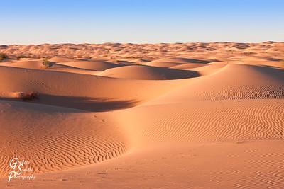 Deep Sand Waves