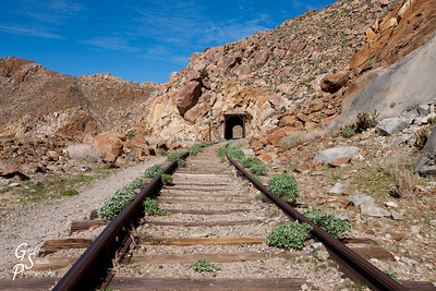 Tunnel on Carrizo Railway