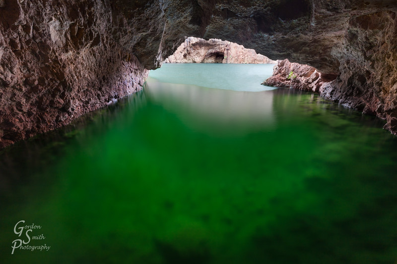 Emerald Cave of Black Canyon