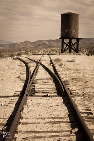 Anza Borrego Railroad Tracks