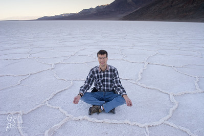 The geometric salt flats inspired a Zen moment.