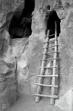A shot from Bandelier National Monument, New Mexico.