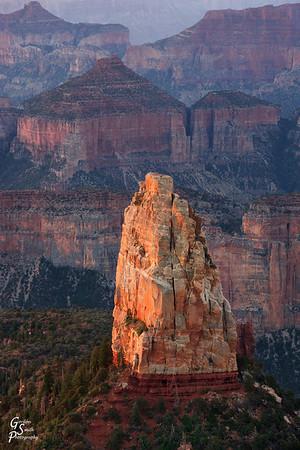 Portrait of Mount Hayden