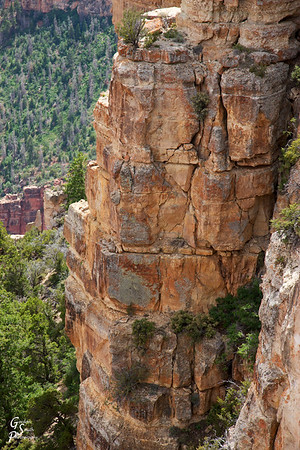 Grand Canyon stacks rocks and millennia like pancakes.