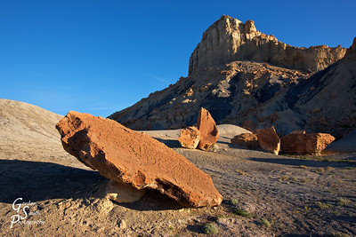 Another shot from Mars-like Nipple Bench badlands.
