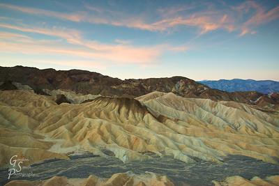 Dawn in Death Valley