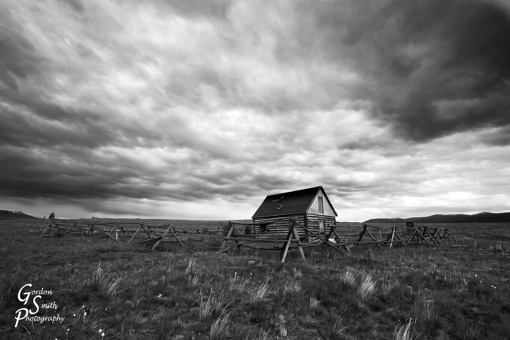 Impending Storm<br /> <br /> Another shot from Montana on a cloudy day.  I tried to go very black and white with this one for mood.