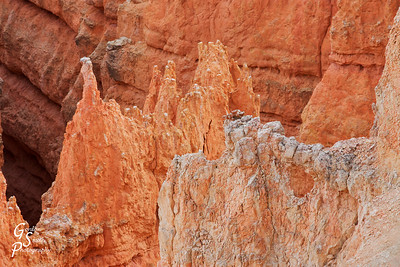 Bryce Canyon detail of spires and erosion