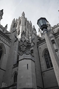 National Cathedral Lamp Post