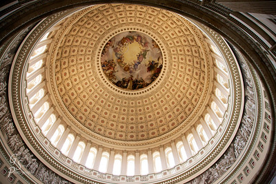 Capitol Dome  We visited just before the threatened government shutdown.  What a great piece of architecture!