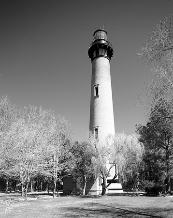 Currituck Lighthouse in Infrared