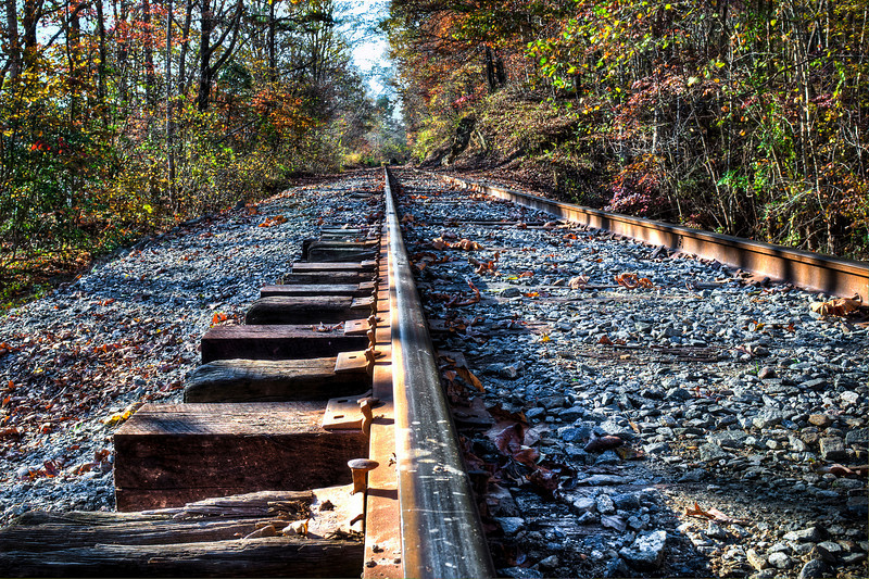 Just another railroad track