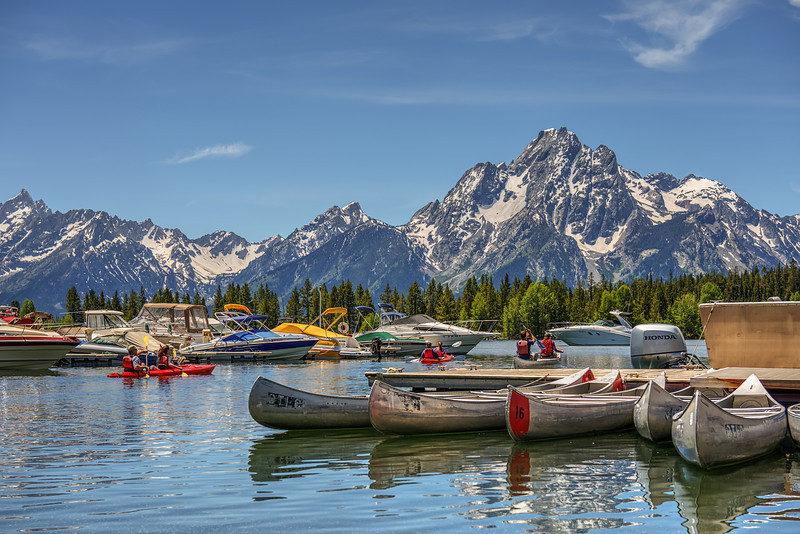 At Jackson Lake