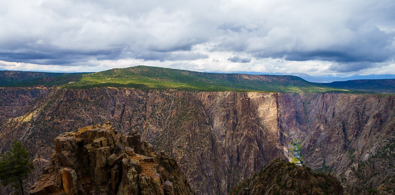 Moody Day at Black Canyon