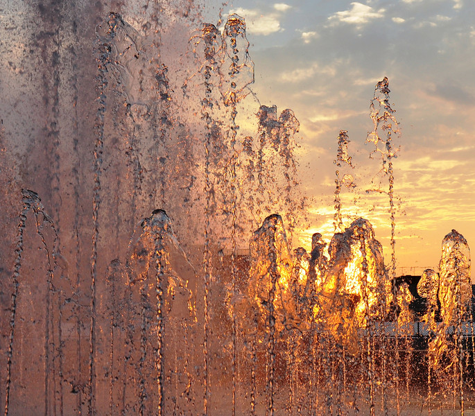 """Pink Fountain.<br /> <br />  <a href=""""http://sillymonkeyphoto.com"""">http://sillymonkeyphoto.com</a>"""