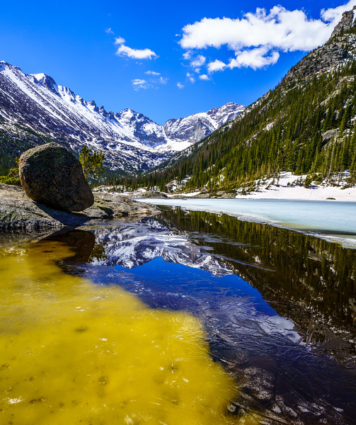 Late Spring in Colorado High Country
