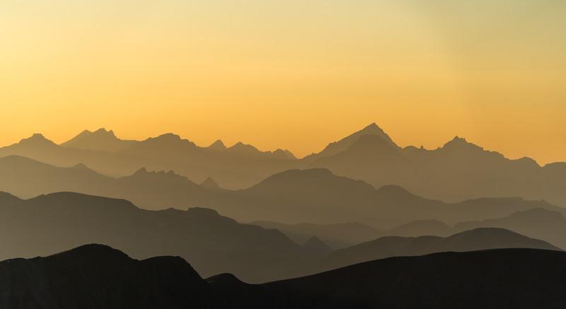 View of Mount Sneffels from the Handies Peak
