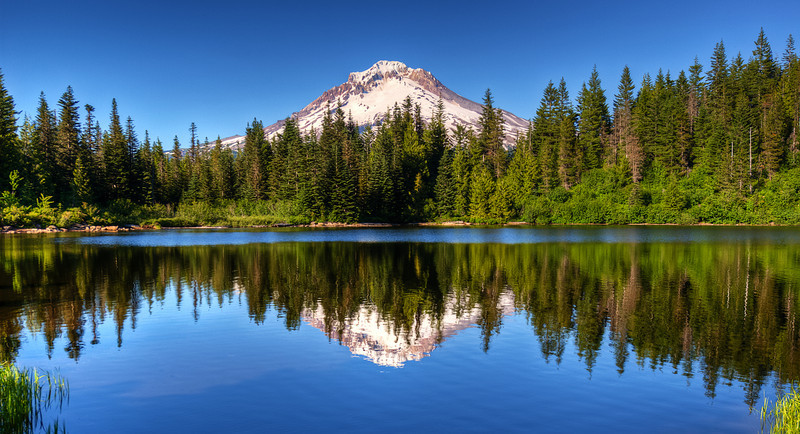 Mt Hood and the Mirror Lake