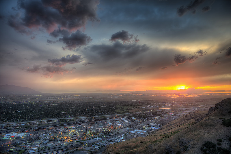 Salt Lake City Sunset