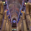 "Inside the National Cathedral<br /> <br /> How many flags are up there?<br /> <br />  <a href=""http://sillymonkeyphoto.com/2011/11/09/inside-the-national-cathedral-2/"">http://sillymonkeyphoto.com/2011/11/09/inside-the-national-cathedral-2/</a>"