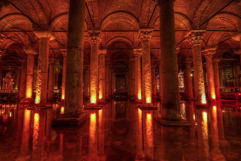 Istanbul Cisterns