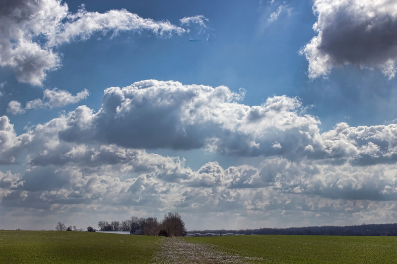 Sometimes the clouds steal the show in a landscape shot. Have a great day everyone!