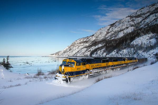 Dusk Coal Train