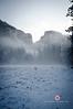 November 19, 2011<br /> Misty Half Dome, Yosemite National Park, California