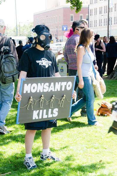 May 25, 2013<br /> March Against Monsanto, San Jose, California