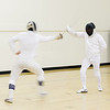 January 22, 2013<br /> A little fencing action.