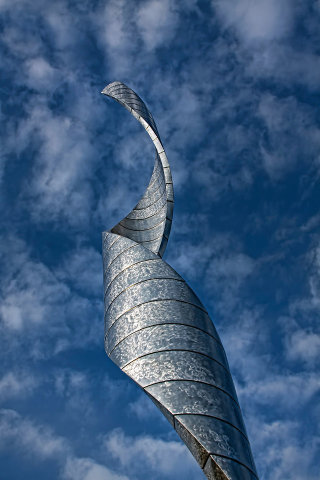 The Millenium Spire at Our Lady of the Snows in Belleville, Illinois