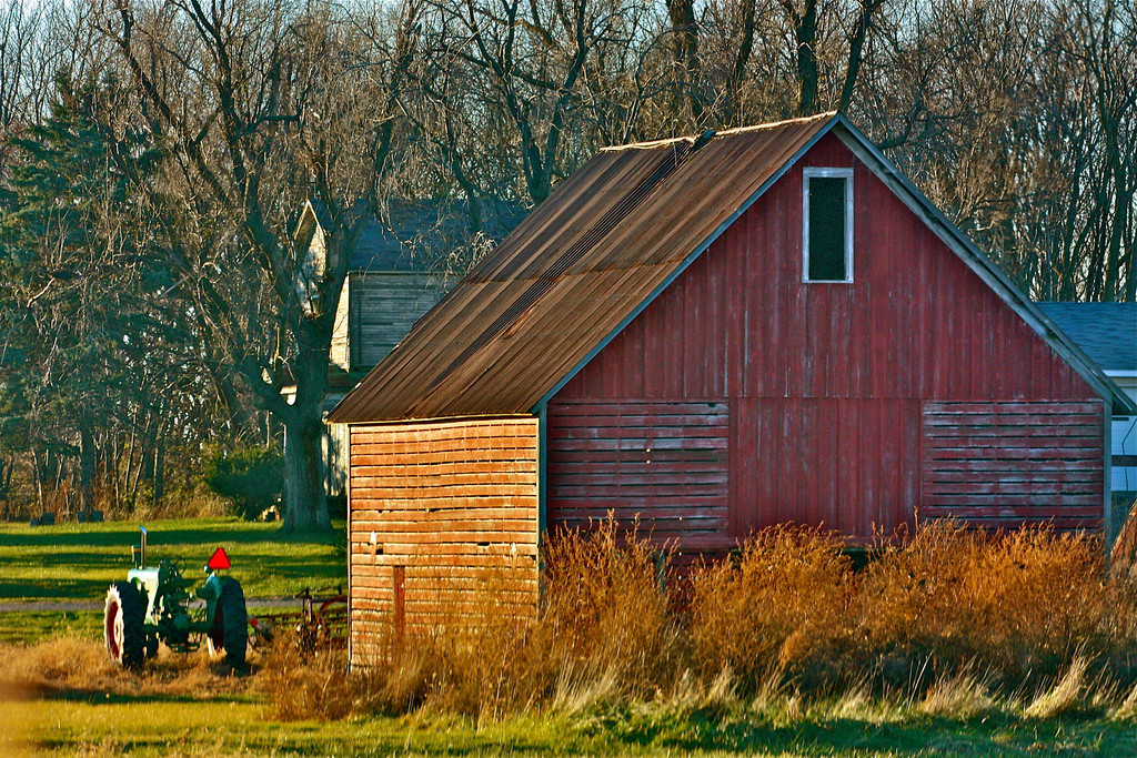 """Old Barn""<br /> <br /> <br /> <br /> ""A jackass can kick a barn down, but it takes a carpenter to build one""~ Sam Rayburn~"