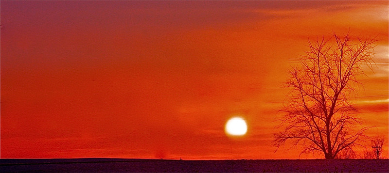 """""""Fire in the sky""""<br /> <br /> <br /> <br /> <br /> """"Know what you want to do, hold the thought firmly, and do every day what should be done, and every sunset will see you that much nearer the goal.""""~ Elbert Hubbard~"""