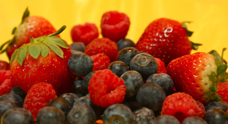 """Berry Healthy""<br /> <br /> <br /> ""The blacker the berry the sweeter the juice""~Proverb~"