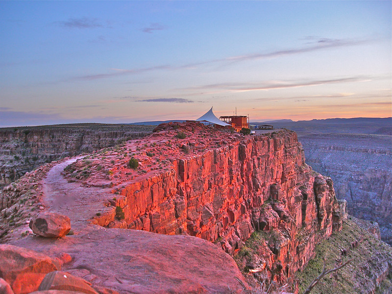 """Sunset at Guano Point - Grand Canyon""<br /> <br /> I believe in evolution. But I also believe, when I hike the Grand Canyon and see it at sunset, that the hand of God is there also.~John McCain"