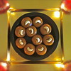 """Diwali Delight""<br /> <br /> Diwali is never complete with out a home made Dessert. Enjoy ! Happy Diwali !<br /> <br /> Life is uncertain.  Eat dessert first.  ~Ernestine Ulmer"