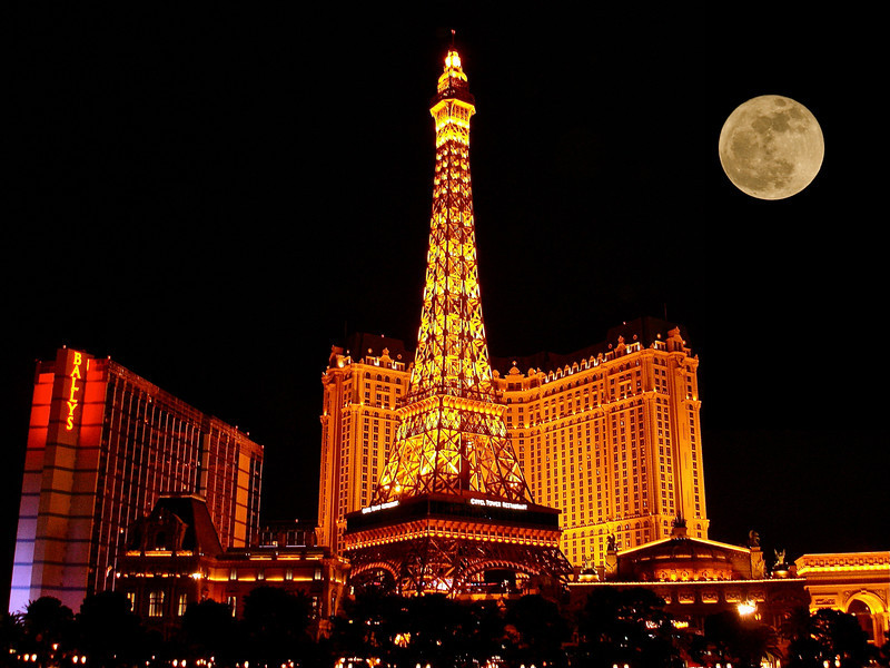 """Vegas Nights""<br /> <br /> There is something haunting in the light of the moon; it has all the dispassionateness of a disembodied soul, and something of its inconceivable mystery.  ~Joseph Conrad"